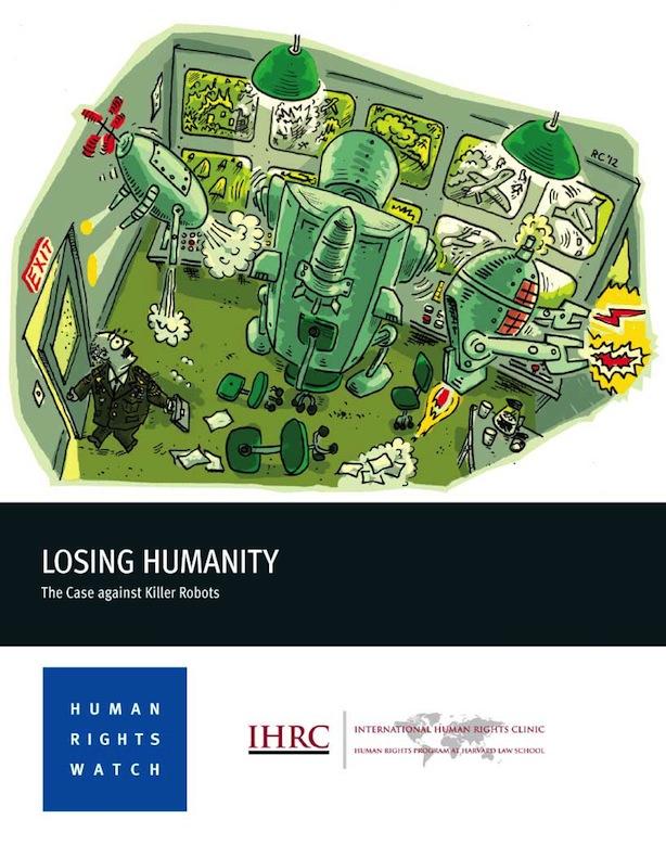 Losing Humanity report