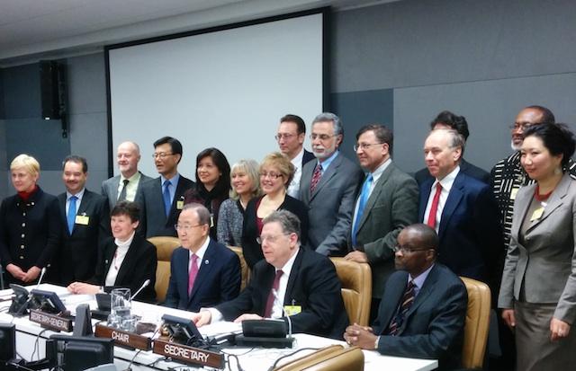 Advising the UN Secretary-General