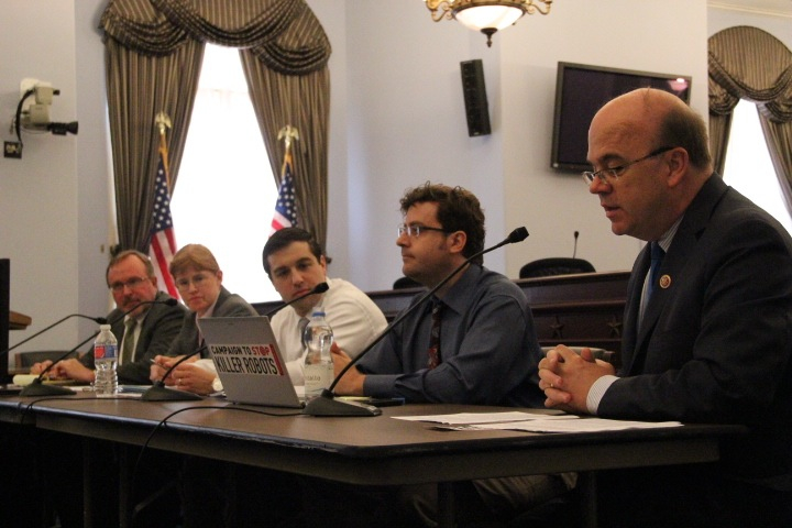 Congressional briefing on killer robots