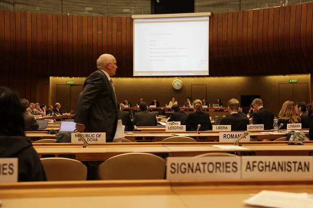 Third UN meeting opens April 11