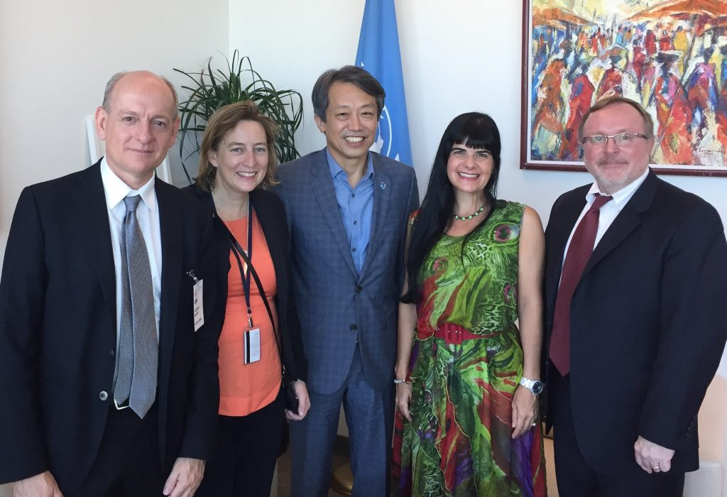 On 18 October 2016, a delegation from the Campaign to Stop Killer Robots met with Kim Won-soo, UN High Representative for Disarmament Affairs