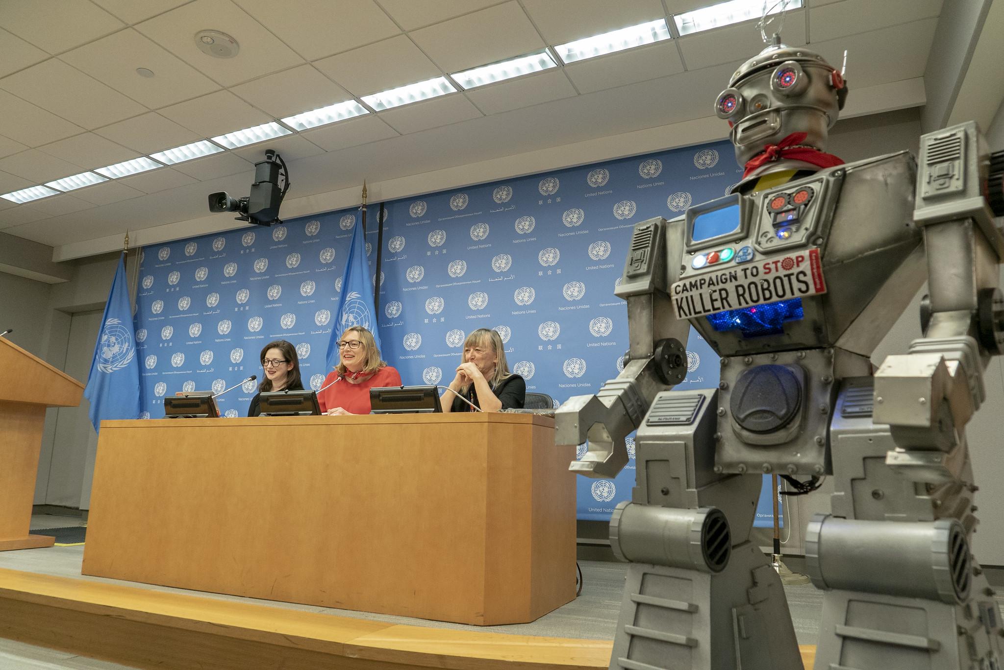 High-level concerns on killer robots at UN