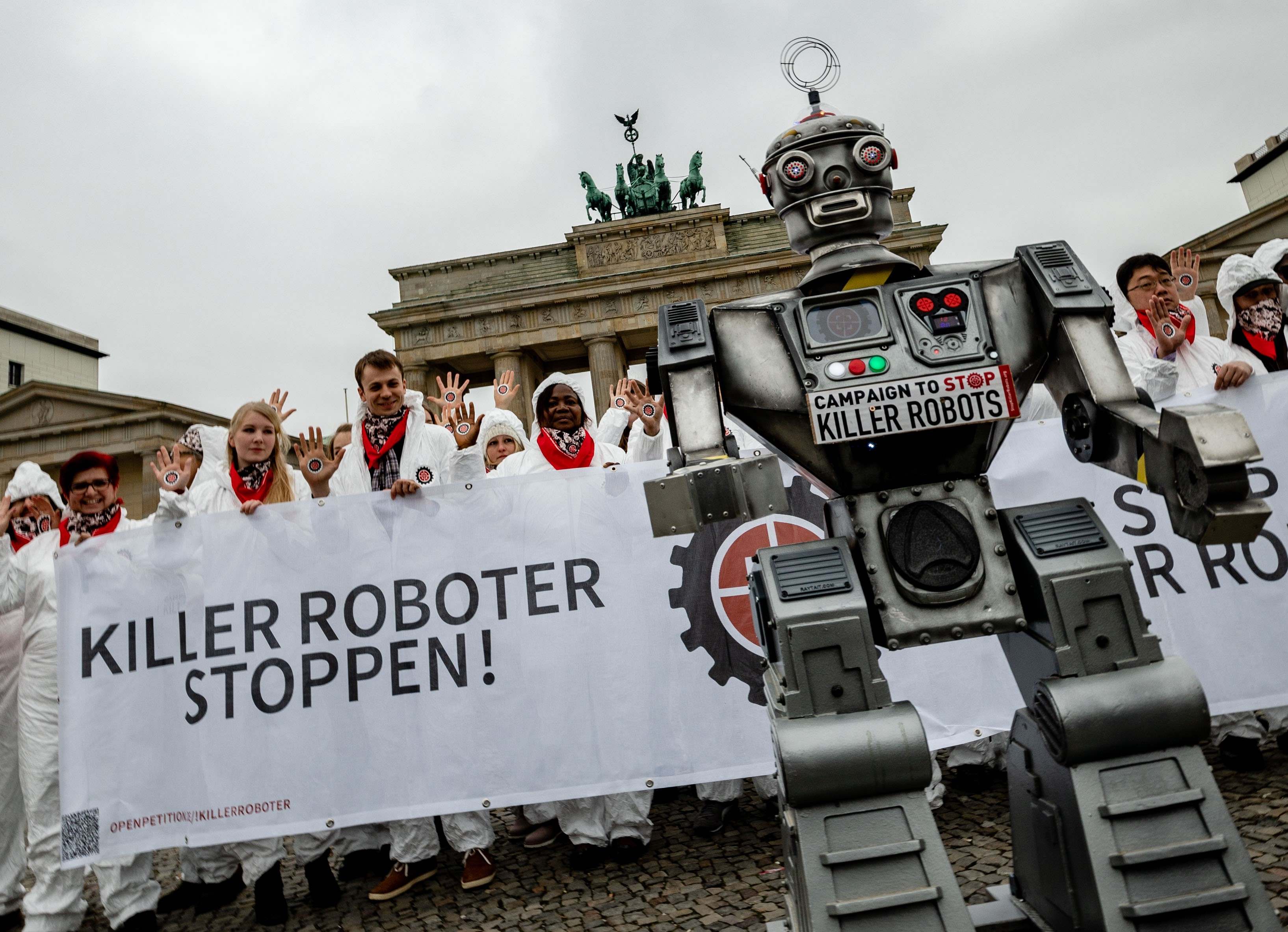 New European poll shows public favour banning killer robots